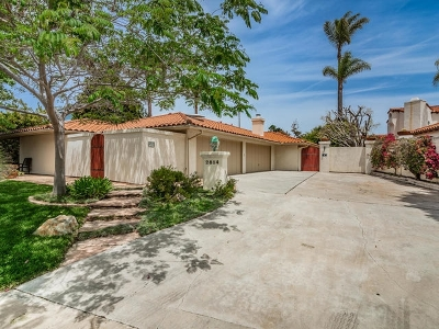Single Family Home For Sale: 2814 La Costa Ave