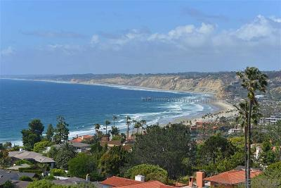 La Jolla Single Family Home For Sale: 1752 Castellana