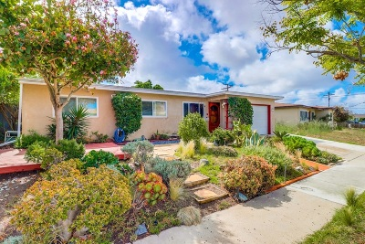 San Diego Single Family Home For Sale: 4321 Tecumseh Way