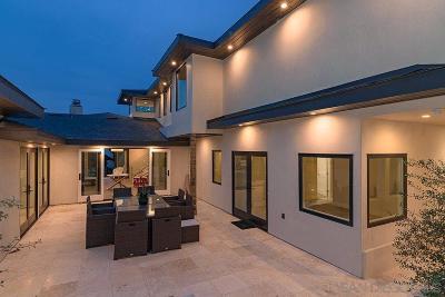 Single Family Home For Sale: 5845 Camino De La Costa