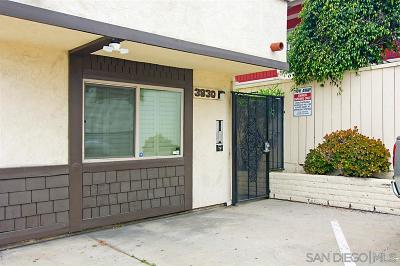 San Diego Attached For Sale: 3930 Wabash Ave #3