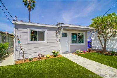 San Diego Single Family Home For Sale: 1736 Pentuckett Ave