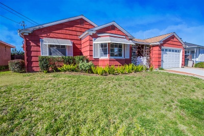 El Cerrito, El Cerrito/West College Single Family Home For Sale: 4844 Atlanta Dr