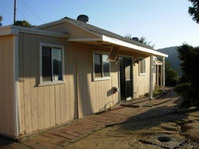 Santa Ysabel Single Family Home For Sale: 27711 Highway 79