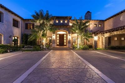 Rancho Santa Fe Single Family Home For Sale: 17656 Las Repolas