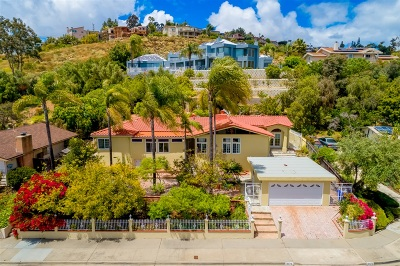 San Diego Single Family Home For Sale: 6674 Hillgrove Drive