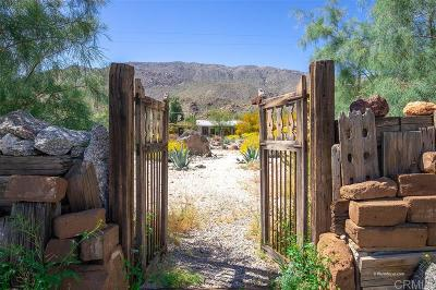 San Diego County Single Family Home For Sale: Tubb Canyon Dr