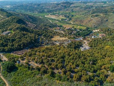 Bonsall Residential Lots & Land For Sale: 30201 Luis Rey Heights #127-512-