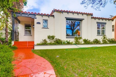 North Park Single Family Home For Sale: 3464 Cooper St