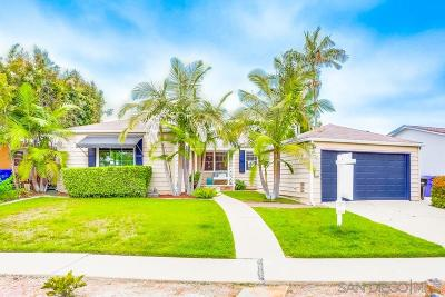 San Diego Single Family Home For Sale: 4882 49th Street