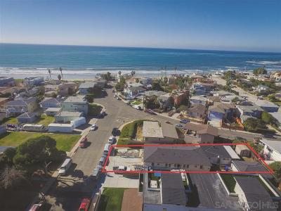 Pacific Beach, Pacific Beach Sail Bay, Pacific Beach, North Pacific Beach, Pacific Beach/Crown Point Multi Family 2-4 For Sale: 720-722 Wilbur Ave