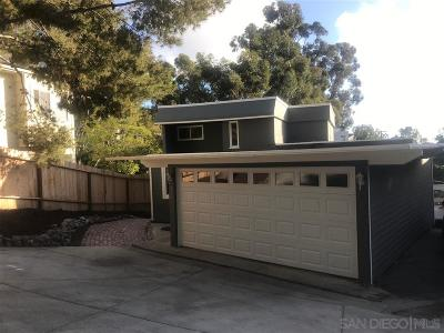 San Diego Single Family Home For Sale: 411 Sloane