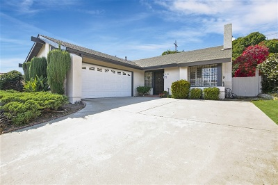 Chula Vista Single Family Home For Sale: 163 Camino Entrada