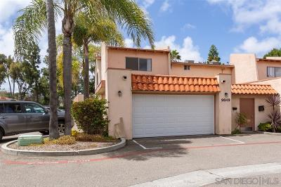 San Diego Townhouse For Sale: 9849 Genesee Ave