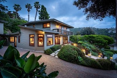 La Jolla Single Family Home For Sale: 2776 Saint Laurent Place