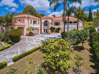 Vista Single Family Home For Sale: 1437 Warmlands