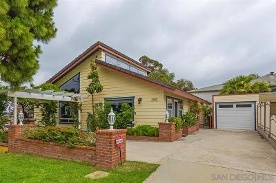 San Diego Single Family Home For Sale: 3163 Ash St