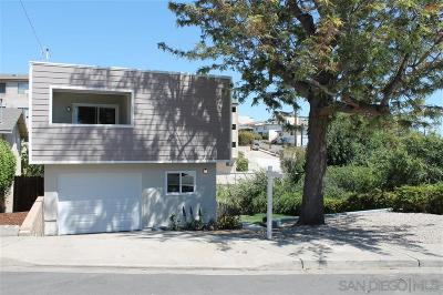 San Diego CA Single Family Home For Sale: $709,900