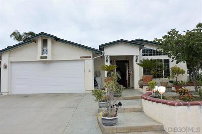 San Diego Single Family Home For Sale: 10105 Baffin Dr