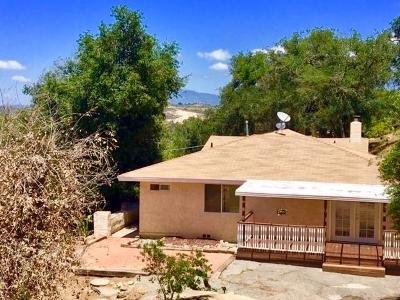Valley Center Single Family Home For Sale: 26931 Oakmont Rd