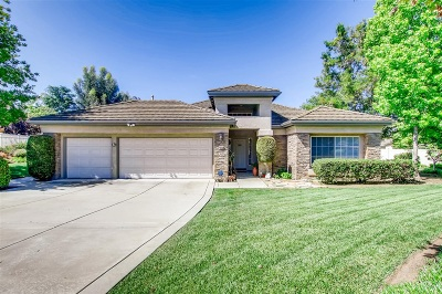 Fallbrook Single Family Home For Sale: 915 Cookie Ln
