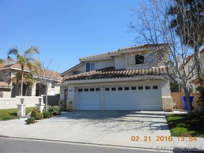 San Diego County Rental For Rent: 12695 Ashley Falls Drive