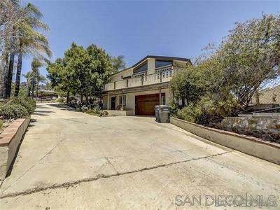 Single Family Home For Sale: 9200 Tropico Dr