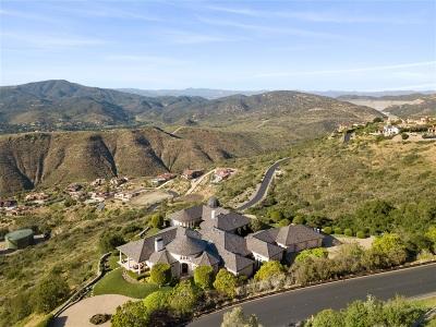 Rancho Santa Fe Single Family Home For Sale: 7804 Camino De Arriba
