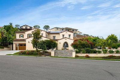 La Costa Greens Single Family Home For Sale: 6950 Amber Ln