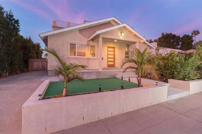 Pacific Beach, Pacific Beach Sail Bay, Pacific Beach, North Pacific Beach, Pacific Beach/Crown Point Single Family Home For Sale: 1150 Emerald Street