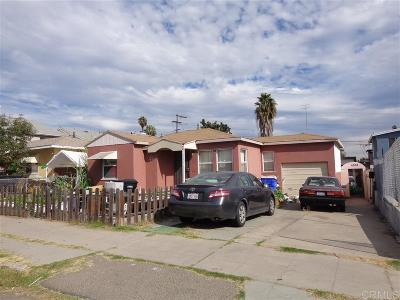 San Diego Multi Family 2-4 For Sale: 4309-4311 50th Street