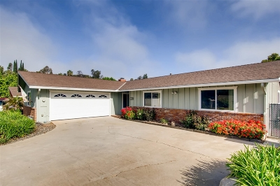 Fallbrook Single Family Home For Sale: 2449 Summerhill Ln