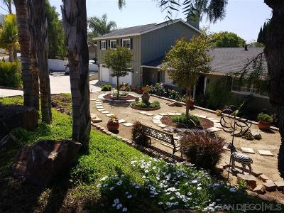 Vista Single Family Home For Sale: 1970 Warmlands Avenue