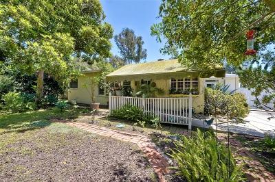 Single Family Home For Sale: 943 Grange Hall Rd.