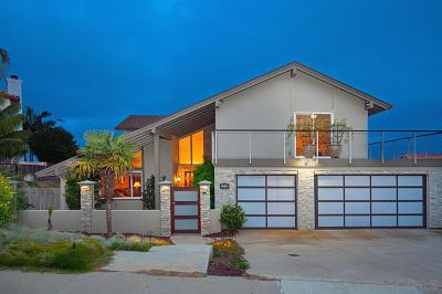 Pacific Beach, Pacific Beach Sail Bay, Pacific Beach, North Pacific Beach, Pacific Beach/Crown Point Single Family Home For Sale: 2169 Harbour Heights Rd