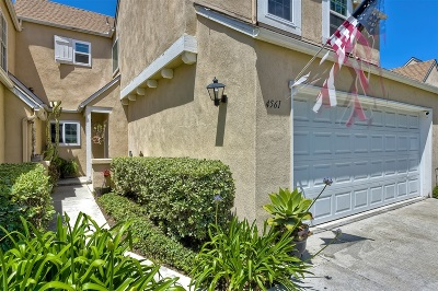 Carlsbad Townhouse For Sale: 4561 Lambeth Ct.