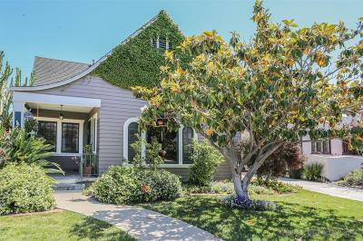 North Park, North Park - San Diego, North Park Bordering South Park, North Park, Kenningston, North Park/City Heights Single Family Home For Sale: 3461 Olive Street