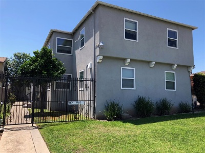 Talmadge, Talmadge/College Area Multi Family 2-4 For Sale: 4454-60 52nd Street