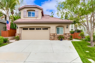 Carlsbad Single Family Home For Sale: 5419 Foxtail Loop