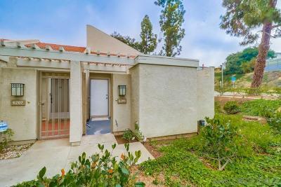 San Diego Townhouse For Sale: 6209 Caminito Araya