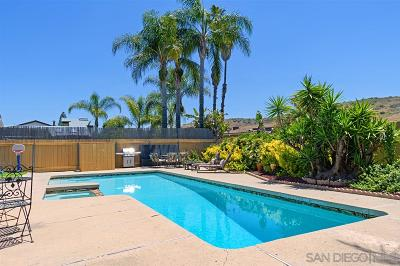 Poway Single Family Home For Sale: 12817 Soule Street