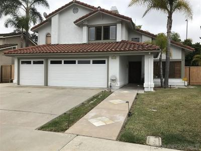 Carlsbad Single Family Home For Sale: 2719 Waterbury Way