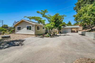 Fallbrook Single Family Home For Sale: 1162 Via Encinos Drive