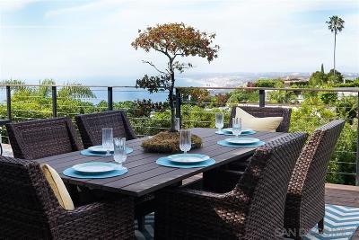 La Jolla Single Family Home For Sale: 7226 Via Capri