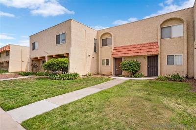 San Diego Townhouse For Sale: 6831 Alvarado Rd #4