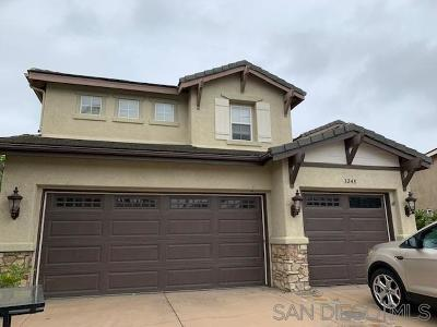 Single Family Home For Sale: 3248 Canyon View Dr