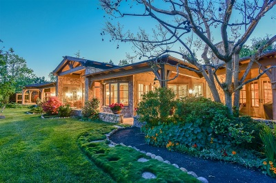 Rancho Santa Fe Single Family Home For Sale: 17233 Via Recanto
