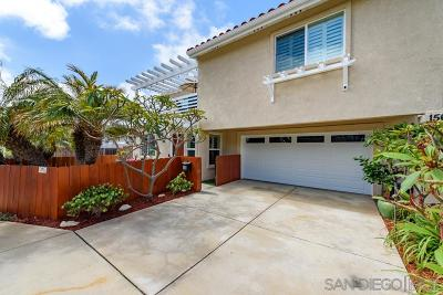 Imperial Beach Single Family Home For Sale: 154 Elm Avenue