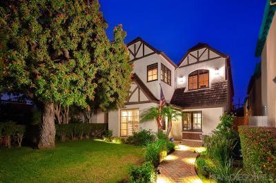 Coronado Single Family Home For Sale: 755 F Avenue