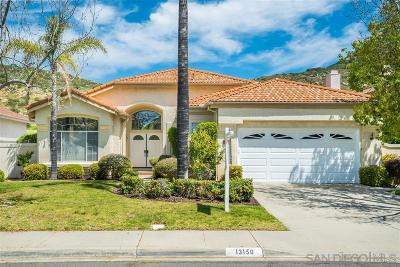 Poway Single Family Home For Sale: 13150 Birch Lane